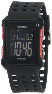 Armitron 408177RED Chronograph Digital Sport