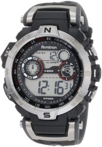 Armitron 408231RDGY Chronograph Digital Sport