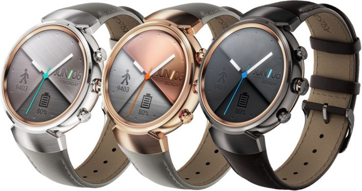 Asus ZenWatch 3 design