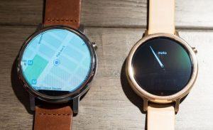Moto 360, Huawei Watch и Activite Pop