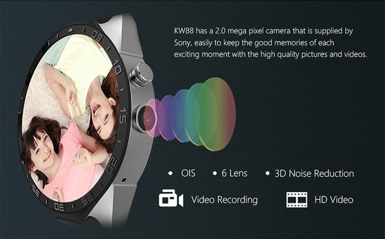 Lemfo kw88 camera