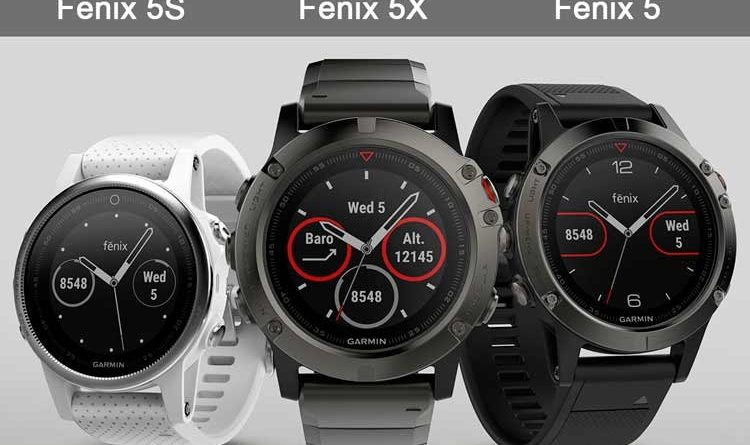Review of Garmin Fenix 5S 5 5X smartwatches